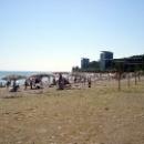 Центральный пляж Пицунда.