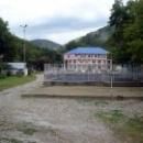 Спортивные площадки на турбазе Приморская.
