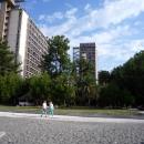 Корпуса «Маяк» и «Амзара». Курорт Пицунда. Абхазия.