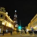 Главная пешеходная улица Казани – ул. Баумана. Зимой в Казани.