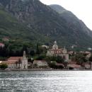 Город Прчань на берегах Которского залива в Черногории.