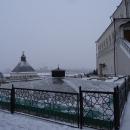 Мавзолей казанских ханов XV-XVI вв. (Музеефикация) на территории Казанского кремля.