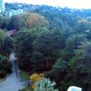 Вид на Сочи с канатной дороги парка «Дендрарий».