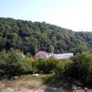 Вид с корпуса Орлан на турбазу «Приморская» и Черное море.