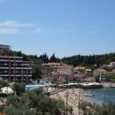 Пляжный отдых на курорте Пржно в Черногории.