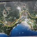 Карта курорта Пржно.