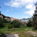 Курорт Пржно в Черногории на Адриатическом море.
