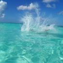 Бирюза Атлантического океана. Курорт Пунта-Кана.