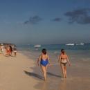 Золотой песок пляжа Макао. Пунта-Кана.
