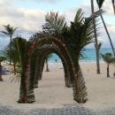 На пляже отеля Барсело Баваро Палас Делюкс. Пунта-Кана.