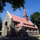 Лютеранская Кирха в Янтарном. С 1991 года кирха - православный храм Казанской иконы Божьей Матери.