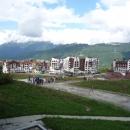 Горная Олимпийская деревня на курорте Роза Хутор.