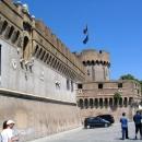 Замок-крепость Святого Ангела в Риме.