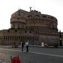 Цитадель Святого Ангела в Риме. Италия.
