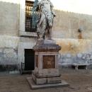 Скульптура Ангела работы де Монтелупо во Дворике Ангела.