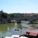 Историческая часть Рима от Замка Святого Ангела.