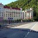 Барсов мост на Роза Долине. Курорт Роза Хутор.
