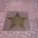 Аллея звезд на набережной Лаванда. Роза Хутор.