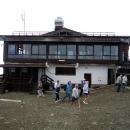 Роза Пик на курорте Роза Хутор. Высота 2320 метров.
