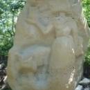 Каменная скульптура, Сафари-парк в Геленджике.