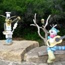 Скульптурные композиции на территории «Кудыкина гора»