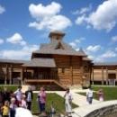 Деревянная скифская крепость - деревня мастеров