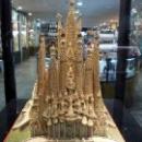 Макет Собора Святого Семейства в Барселоне