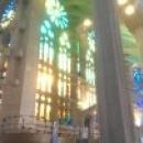 Внутреннее убранство Искупительного храма, Барселона.