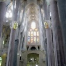 Внутри храма Святого Семейства, Барселона.