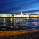 Ночной Санкт-Петербург.