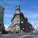 Перекресток в Санкт-Петербурге Пять углов.