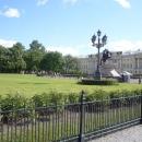 Сенатская площадь и памятник Петру I - «Медный всадник» в Санкт-Петербурге.