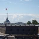 Флажная башня Петропавловской крепости в Санкт-Петербурге.