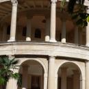 Колонны санатория Амра. Отдых в Абхазии.