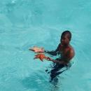 Купание в «Натуральном бассейне». Остров Саона.