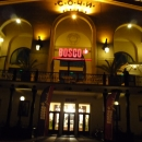 Ночной морской вокзал Сочи.