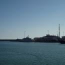 Морской порт Сочи.