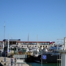 В морском порту Сочи.