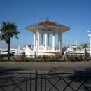 Ротонда в Морском порту Сочи.