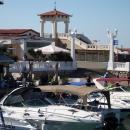 Причал для прогулочных яхт в Морском порту Сочи.