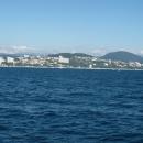 Побережье Черного моря в Сочи.