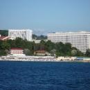 Приморский парк в Сочи. Морская прогулка на теплоходе.