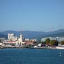 Морской вокзал Сочи. Вид с моря.