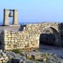 Севастополь Херсонес Таврический руины Херсонес и колокол