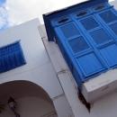 Архитектура города Сиди-Бу-Саид. Тунис.