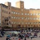Площадь Сиены в форме ракушки- Piazza del Campo