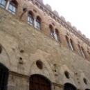 Архитектура города Сиены. Регион Тоскана. Италия.