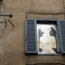 Иконы на улицах города Сиены в Италии