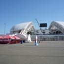 Стадион Фишт. Подготовка в Чемпионату мира по футболу в России в 2018 году.