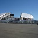 Стадион Фишт в Олимпийском парке Сочи (Адлер).